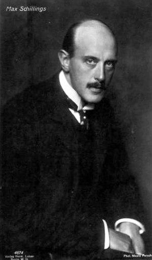 Max von Schillings - Max von Schillings.