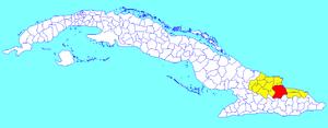 Mayarí - Image: Mayarí (Cuban municipal map)