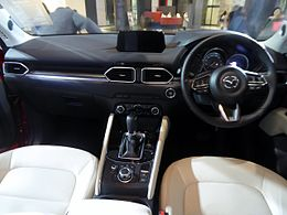 Mazda CX-5 XD L Package 4WD (LDA-KF2P) interior.jpg