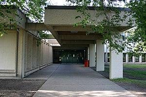 McNally High School - School Entrance in 2006