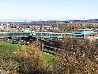 Meadowhall Interchange Transport interchange serving Meadowhall shopping centre in Sheffield, South Yorkshire, England