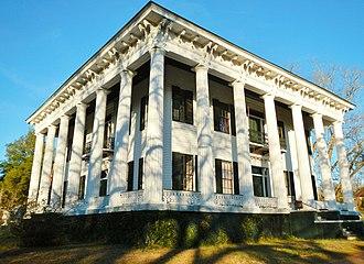 Lowndesboro, Alabama - Image: Meadowlawn Plantation Lowndesboro Alabama Historic District