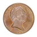 Medalj med historiken Erik Gustav Geijer, 1835 - Skoklosters slott - 99297.tif