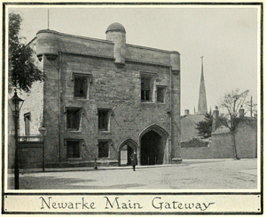 Magazine Gateway - Image: Mediaeval leicester billson f 200 Newarke Main Gateway