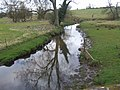Meece Brook upstream at Norton Bridge - geograph.org.uk - 1778686.jpg