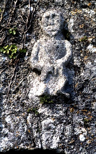 Kilnaboy - Sheela na Gig on the Kilnaboy church