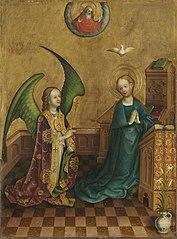 Heisterbacher Altar: Verkündigung an Maria (mit Stefan Lochner)