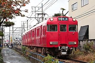 Meitetsu Bisai Line railway line owned by Meitetsu in Japans Chubu region