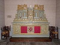 Melesse (35) Église Saint-Pierre Intérieur Ancien maître-autel 01.jpg