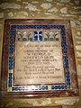 Memorial - Chetnole Church - geograph.org.uk - 1184174.jpg