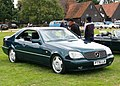 Mercedes-Benz C140 registered 1996 at Knebworth in 2014.JPG