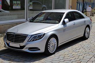 F-segment - Image: Mercedes Benz W 222 S 350 Bluetec