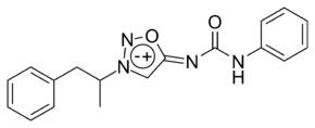 Mesocarb chemical structure.png