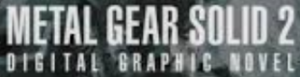 Immagine Metal Gear Solid 2 Digital Graphic Novel logo.png.
