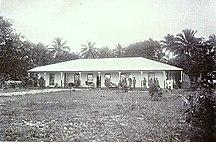 Satupa'itea--Methodist mission house, Satupa'itea, Samoa c.1908
