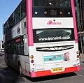 Metro (Belfast) bus 2354 (SEZ 2354) 2008 Volvo B9TL Wright Eclipse Gemini, 28 February 2011.jpg