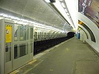 Metro Paris - Ligne 1 - Berault - Installation facades de quai (21).jpg