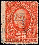 Mexico 1889-90 documents revenue F175.jpg