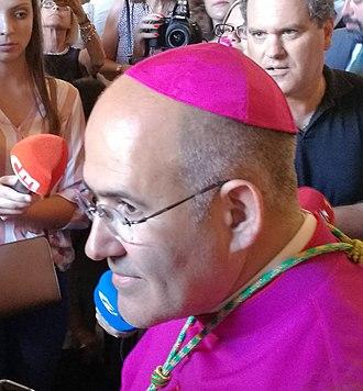 José Tolentino Mendonça - Archbishop José Tolentino Mendonça, Belém, 28.07.2018