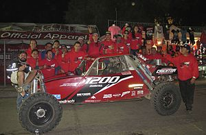 SCORE Lites - Michael Crichton Motorsports finishes in second place in the 2016 SCORE International Baja 1000, Ensenada, Baja California, Mexico