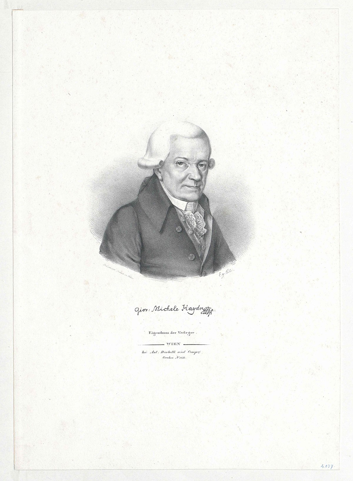 list of compositions by michael haydn