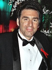 L'actor estatounitense Michael Richards, en una imachen de 1993
