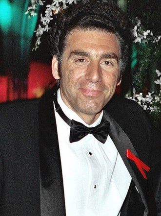 Michael Richards - Richards at the 45th Primetime Emmy Awards on September 19, 1993
