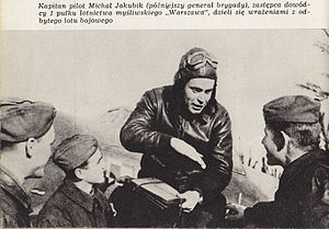 Michal Jakubik w 1 Pulku Lotnictwa Mysliwskiego.jpg