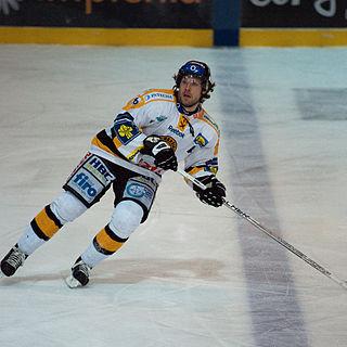 Michal Trávníček Czech ice hockey player
