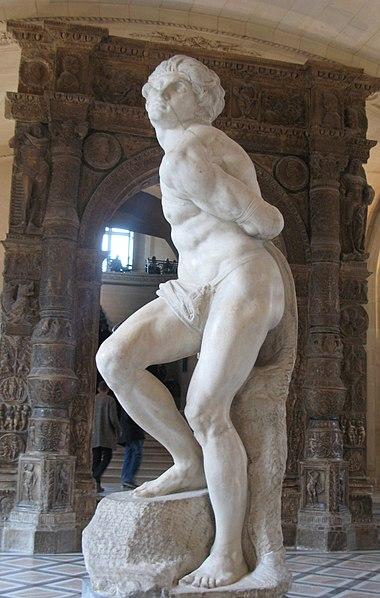 Ficheiro:Michelangelo-The Rebellious Slave.jpg