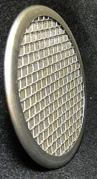 Microlith (catalytic reactor) - Close-up of a Microlith screen