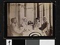 Middagsselskap med Karl Konow, Bjørnstjerne Bjørnson, Dagny Sautreau, Karoline Bjørnson og Christian Meyer Ross, ca. 1891 - no-nb digifoto 20160609 00059 bldsa BB1504.jpg