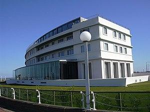 Midland Hotel, Morecambe - Image: Midland Hotel geograph.org.uk 1234355