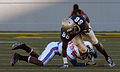 Midshipmen on offense at SMU at Navy 2010-10-16 2.jpg