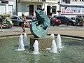 Mikołajki - Król Sielaw (fontanna).JPG