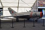 Mikoyan-Gurievich MiG 15. Barcelona Int. Comic Fair 2017.jpg