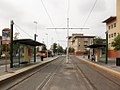 Milano ple Egeo fermata tram.jpg