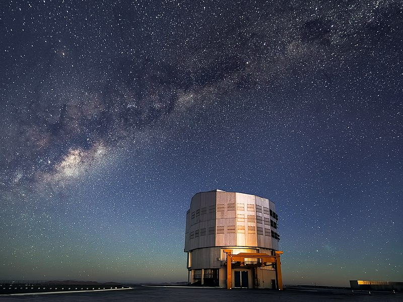Milky Way Emerges as Sun Sets over Paranal.jpg