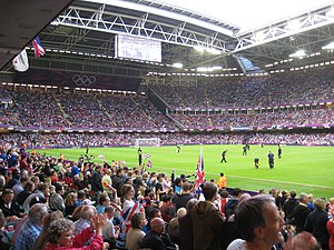 Sport in Cardiff - Inside the Millennium Stadium