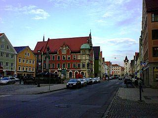 Mindelheim Place in Bavaria, Germany