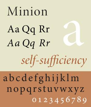 Minion (typeface)