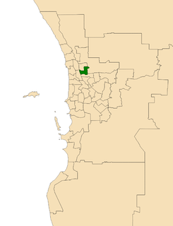 Electoral district of Mirrabooka state electoral district of Western Australia