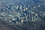 Mississauga Square One Highrises Aerial (41083754511).jpg