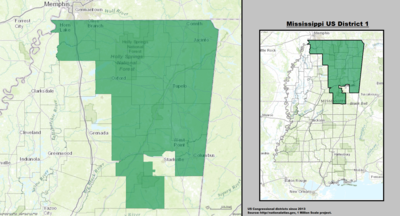 Mississippi's 1st congressional district - since January 3, 2013.