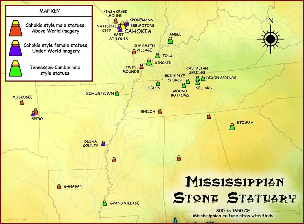 Mississippian Stone Statuary HRoe 2010