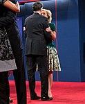 Mitt and Ann Romney embrace in Boca Raton, Fla., Oct. 22, 2012.jpg