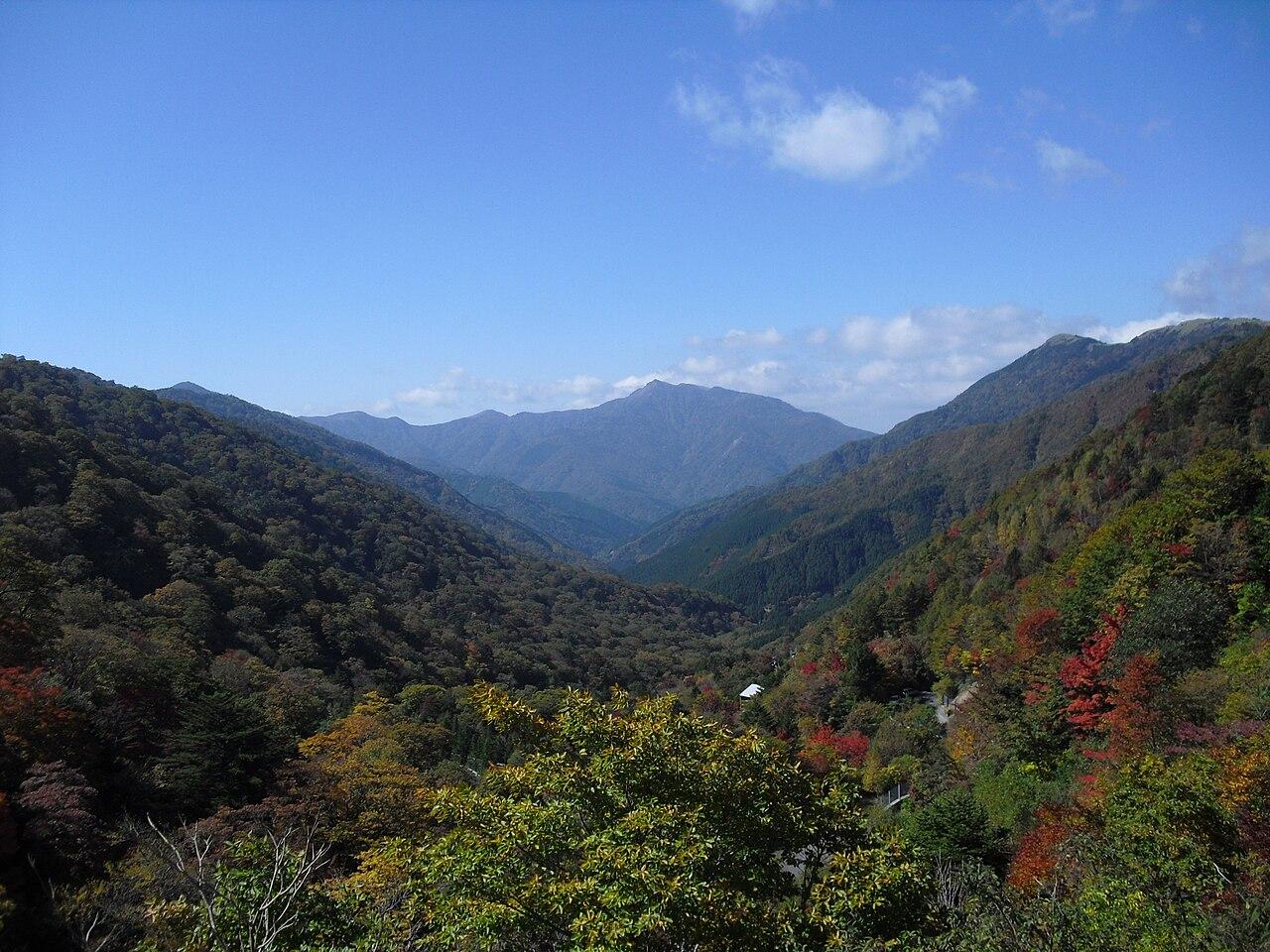 三嶺(高知県)