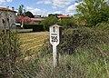 Modúbar de la Emparedada, Punto kilométrico vía de tren 395.jpg