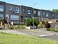 Modern housing terrace in Uphall - geograph.org.uk - 1303269.jpg
