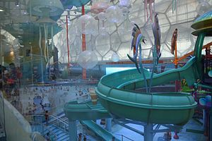 Water park - Modern indoor waterpark